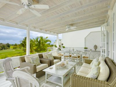 Photo for Villa With Spectacular Views Across The Golf Course And The Caribbean Sea