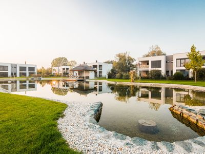 Photo for Luxurious apartment with swimming pond and golf near Lutzmannsburg thermal baths