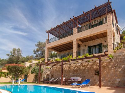 Photo for Kissamos rental villa with private pool