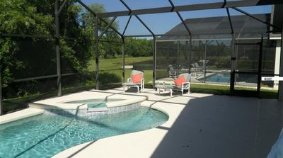 Photo for 4 Bed / 3 Full Baths / Private Heated Pool / Gated Community / Near Disney