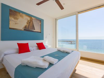 Photo for Sea View Apartment, 4 people