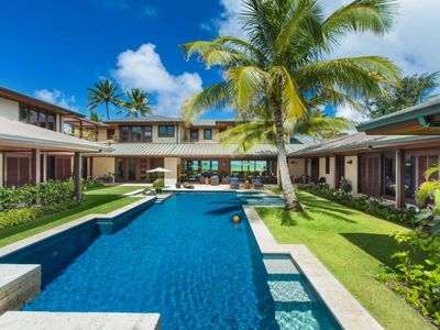 Photo for Castle Point Estate - Special Ultra Luxurious, Oceanfront Kailua Smart Home Estate