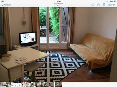 Photo for Apartment with garden 200m from the beach