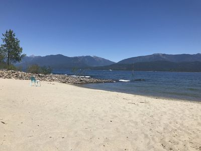 Photo for Queens Bay Getaway near Nelson, BC - Waterfront paradise