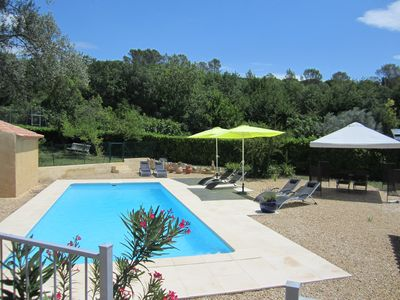 Photo for Petite Maison Clos Neuf - Provencal. Villa, large pool, quiet, in the vineyard