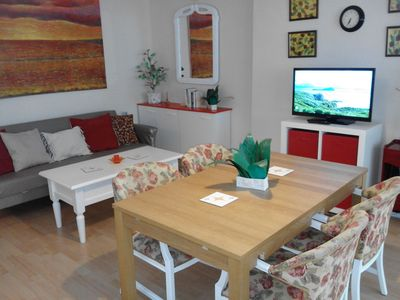 Photo for Comfortable, fully furnished apartment near the beach and the centre of Malaga