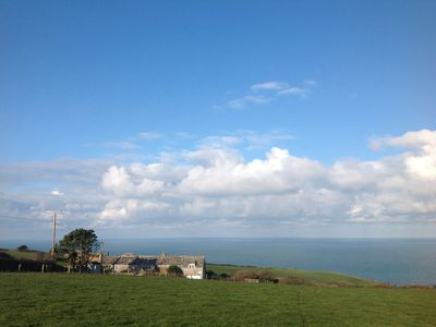 Photo for Spacious and stunning farmhouse With Breathtaking Sea Views.