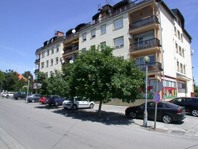 Photo for Holiday apartment practically on 4th floor of an apartment building with view of Lake Balaton