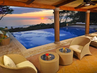 Photo for Multi-Level 6BR Villa with Outstanding Sunset and Ocean Views!