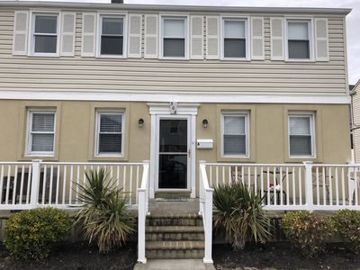 Photo for Beautiful completely remodeled Margate condo for summer rental 1 block from bay