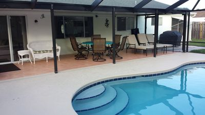 Heated pool right off the Lanai