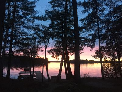 Photo for Enjoy Amazing Sunsets, Private Waterfront and Nature At This Long Lake Gem!