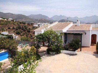 Photo for Villa with private pool, 3 km from Frigiliana.