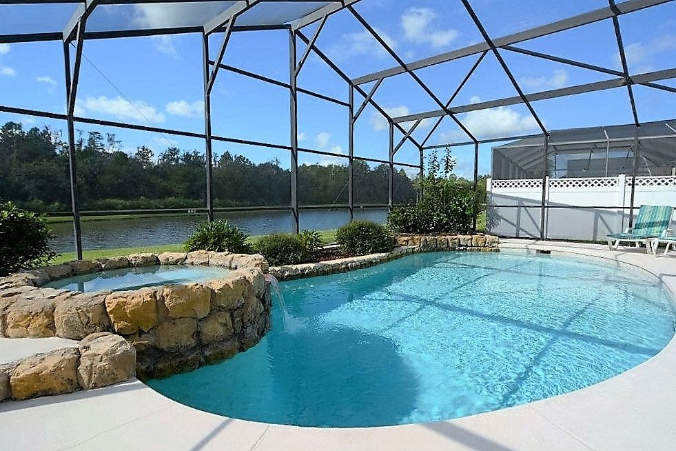 4 Bedroom Disney Orlando Kissimmee Vacation Home With