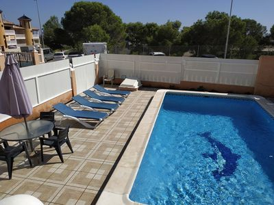 Photo for CABO ROIG/LA ZENIA. Lovely villa with  private pool +free WIFI