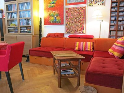Photo for Spacious Alesia Terrasse apartment in 14ème - Montparnasse with WiFi & private terrace.