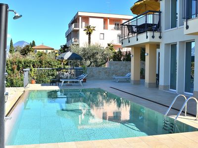 Photo for South House With Pool And Lake View - Apartment for 4 people in Torri del Benaco