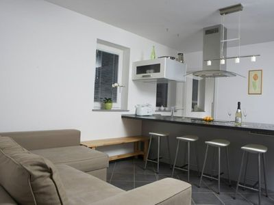 Photo for Apartment in the center of Bled with Internet, Parking, Garden, Balcony (337198)