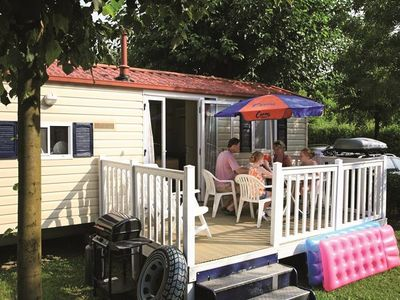 Photo for Camping Le Chatelet ***** - mobile home 6 people - 4/6 (between 6 and 10 years)
