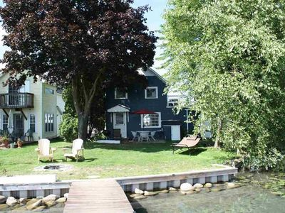 Photo for Torch River Retreat-(Torch River, MI) Torch Lake across the street!