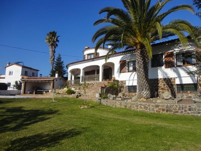 Photo for VILLA SANTET, FOR 8 PEOPLE, WITH A BIG GARDEN AND POOL, WIFI, PARKING
