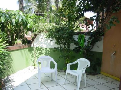 Photo for Beautiful apartment with outdoor area, parking space and private barbecue