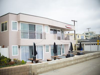 Photo for Ocean Front Suites - Huge Beachfront Patio - 4 Units Available (4007 Downstairs)