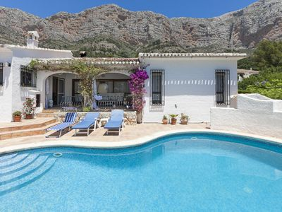 Photo for Charming villa with private pool, super king beds.
