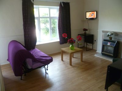 Photo for LONDON 2 BEDROOM GARDEN FLAT, 40MINS TO CITY, SLEEPS 2-10,  25MINS TO WESTFIELD.