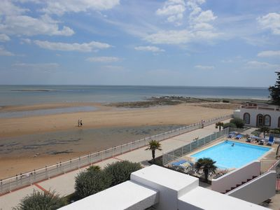 Photo for studio standing 30 m² for 2 people on the beach and sea view