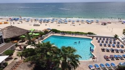 Photo for GALT MILE FT LAUDERDALE BEACH, OCEAN FRONT BACONY, AMAZING VIEWS LAST MIN. DEALS