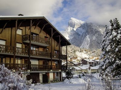 Photo for Spacious penthouse apartment for rent in Samoens, Grand Massif.