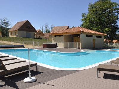 Photo for Comfortable detached holiday accommodation on a beautiful holiday park with an outdoor swimming pool
