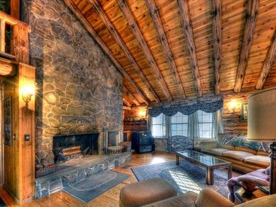 Photo for Moosehead Lakefront Log Home