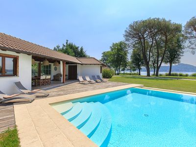 Photo for Ultimate Luxury Villa with Pool, Tennis, Golf, Boats & More!