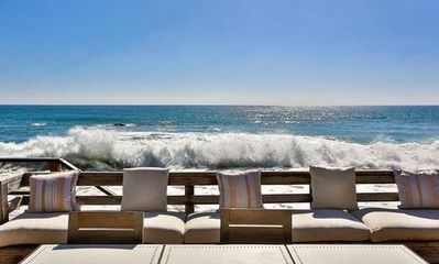 Photo for Spend time with family on PRIVATE beach in Malibu