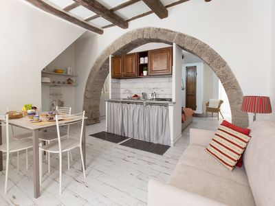 Photo for IN-Center Charme-Maison: holiday in the heart of the medieval quarter of Viterbo