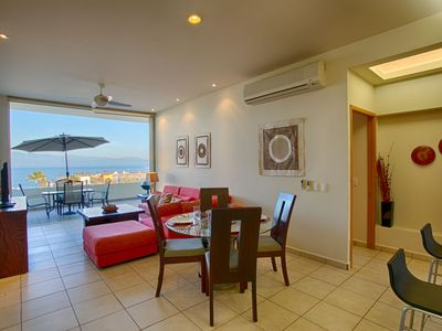 Photo for The best view from this Penthouse at La Joya de Huanacaxtle!