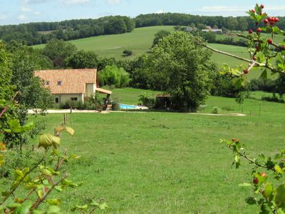 Gite view from our own land