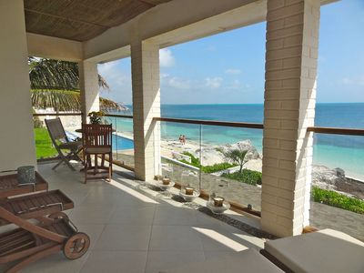 BEAUTIFUL Ocean Front private House In A Family Friendly Beach