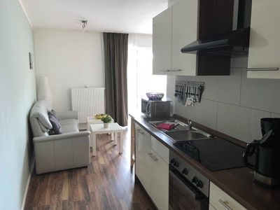 Photo for 209, first floor, balcony - Apartmenthaus Fehnferien, 95100
