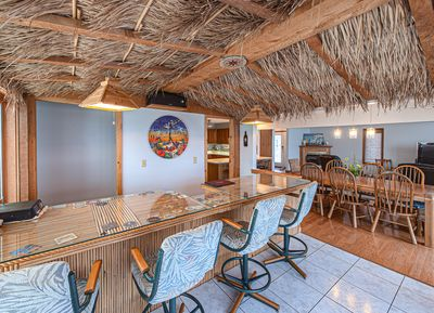 Built in Tiki Bar! A favorite place to hang out.