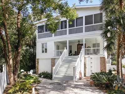 Photo for Wave Call - Luxury Coastal Home on Tybee's South End.