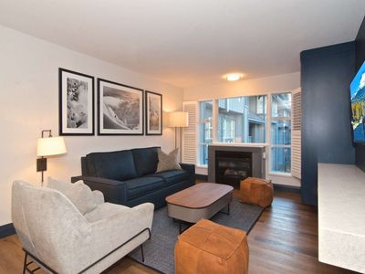 Photo for BRAND new  RENO throughout completing  DECEMBER 2018 Family size Condo at base of BLACKCOMB;