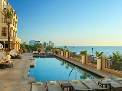 Photo for GREAT FIND! OCEAN FRONT 1BR, POOL, SAUNA