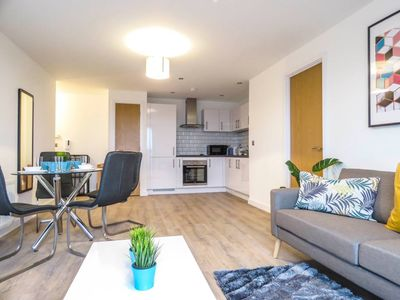 Photo for Modern design 2 Bedroom apartment near Birmingham Canal and the ICC