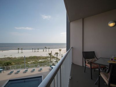 Photo for Life's At Ease With An Ocean Breeze! Biloxi's Only Condo Directly On Beach!