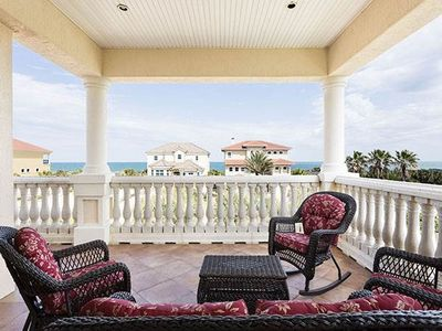 Invite everyone up to the 3rd floor patio for lunch - Invite everyone up to the 3rd floor for a special lunch with ocean views! Florence By The Sea has several dining areas, a private pool, elevator, and oodles of fine amenities for you to enjoy on your Florida vacation.