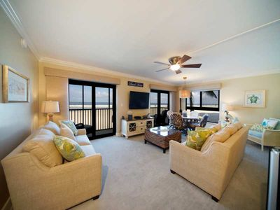 Photo for Gorgeous, Updated Beachfront Unit at Island Winds - FREE WIFI, FULL-SIZED WASHER AND DRYER IN UNIT, CENTRAL AIR, LOWER FLOOR - Click for reviews!