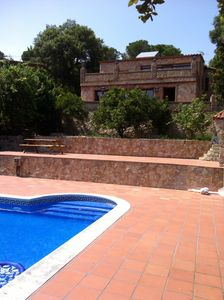 Photo for FANTASTIC NEW HOUSE WITH PRIVATE POOL, JACUZZI INSIDE AND OUTSIDE